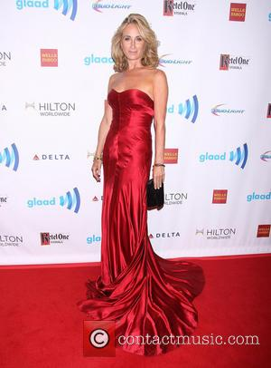 Sonja Morgan wearing Herve Leger by Max Azria - 25th Annual GLAAD Media Awards held at the Waldorf Astoria Hotel...