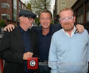 Dave Egan, Michael Flatley and Brian Shaw