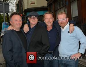 Paul Sheehan, Dave Egan, Michael Flatley and Brian Shaw