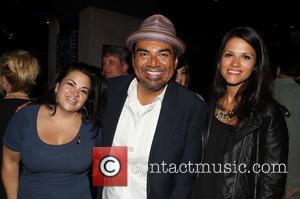 Christy Haubegger, George Lopez and Guest