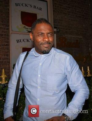 Idris Elba - Idris Elba DJs at Bucks Townhouse with celebrity guests Adam Clayton & wife Mariana Teixeira de Carvalho......
