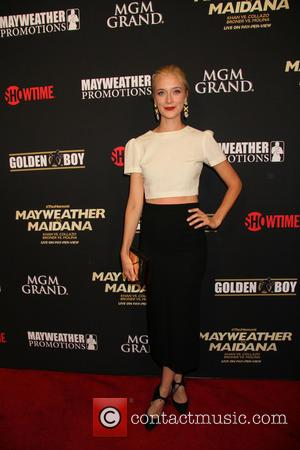 Caitlin Fitzgerald - Mayweather vs Maidana VIP Pre Fight Party held at MGM Grand Hotel & Casino in Las Vegas,...