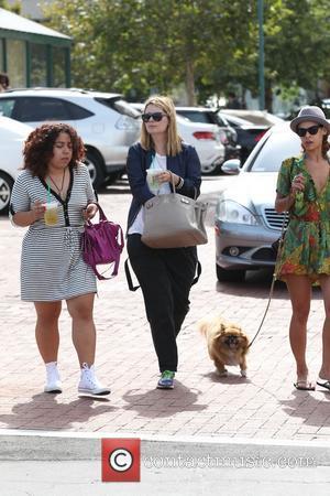 Mischa Barton - Mischa Barton and friends, shopping at Malibu Cross Creek with her dog - Los Angeles, California, United...