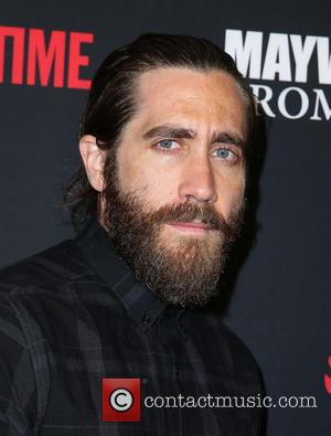 Jake Gyllenhaal - Showtime Mayweather VS. Maidana VIP Pre-Fight Party Carpet at MGM Grand Garden Arena - Las Vegas, Nevada,...