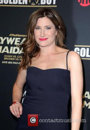 Kathryn Hahn - Showtime Mayweather VS. Maidana VIP Pre-Fight Party Carpet at MGM Grand Garden Arena - Las Vegas, Nevada,...