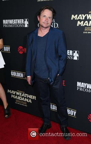 Michael J Fox - Showtime Mayweather VS. Maidana VIP Pre-Fight Party Carpet at MGM Grand Garden Arena - Las Vegas,...