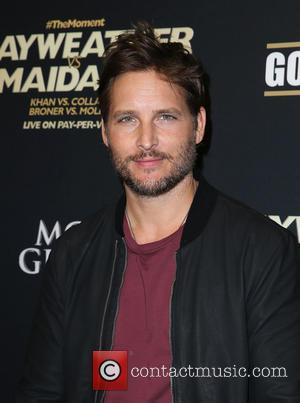 Peter Facinelli - Showtime Mayweather VS. Maidana VIP Pre-Fight Party Carpet at MGM Grand Garden Arena - Las Vegas, Nevada,...
