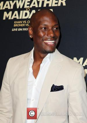 Tyrese - Showtime Mayweather VS. Maidana VIP Pre-Fight Party Carpet at MGM Grand Garden Arena - Las Vegas, Nevada, United...