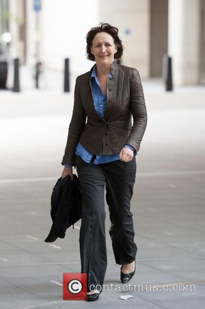 Fiona Shaw - The Andrew Marr Show held at the BBC Television Centre - Arrivals. - London, United Kingdom -...