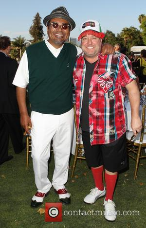 George Lopez and Gary Valentine - 7th Annual George Lopez Celebrity Golf Classic presented by Sabra Salsa held at Lakeside...