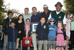 George Lopez and Guest - 7th Annual George Lopez Celebrity Golf Classic presented by Sabra Salsa held at Lakeside Golf...