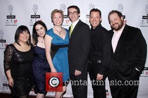 Ann Harada, Stephanie D'Abruzzo, Jennifer Barnhart, Rick Lyon, John Tartaglia and Jordan Gelber - 2014 Lucille Lortel Awards held at...