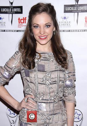Laura Osnes - 2014 Lucille Lortel Awards held at the NYU Skirball Center -  Arrivals. - New York, New...