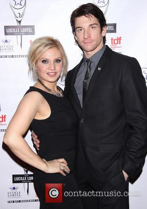 Orfeh and Andy Karl - 2014 Lucille Lortel Awards held at the NYU Skirball Center -  Arrivals. - New...