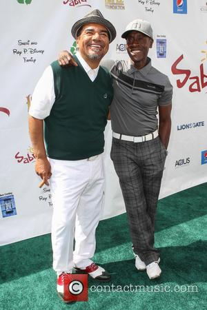 George Lopez and Don Cheadle - 7th Annual George Lopez Celebrity Golf Classic Presented By Sabra Salsa at Lakeside Golf...
