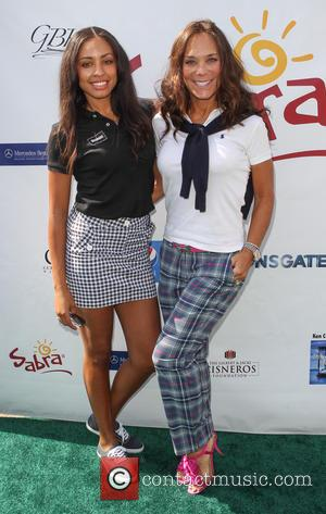 Guest and Liz Rusnak - 7th Annual George Lopez Celebrity Golf Classic presented by Sabra Salsa held at Lakeside Golf...