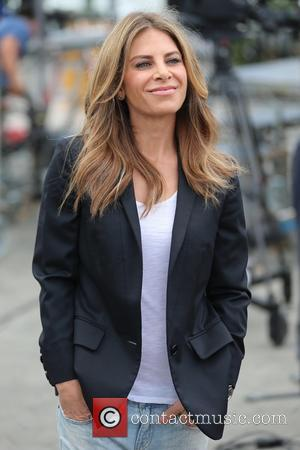 Jillian Michaels - Jillian Michaels appears on Extra hosted by Mario Lopez - Los Angeles, California, United States - Monday...