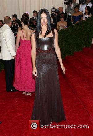 Adriana Lima - the 'Charles James: Beyond Fashion' Costume Institute Gala at the Metropolitan Museum of Art on May 5,...