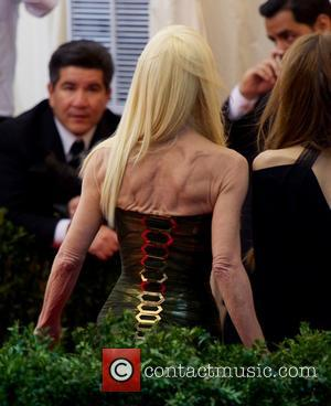 Donatella Versace - 'Charles James: Beyond Fashion' Costume Institute Gala at the Metropolitan Museum of Art - Outside Arrivals -...