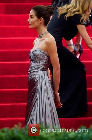 Lily Aldridge - 'Charles James: Beyond Fashion' Costume Institute Gala at the Metropolitan Museum of Art - Outside Arrivals -...