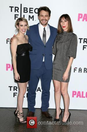 Emma Roberts, James Franco and Gia Coppola