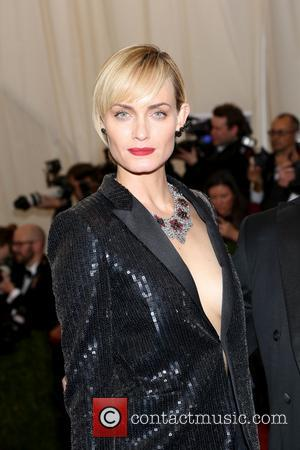Amber Valletta - the 'Charles James: Beyond Fashion' Costume Institute Gala at the Metropolitan Museum of Art on May 5,...