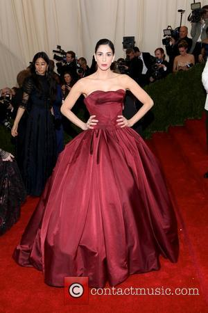 Sarah Silverman - the 'Charles James: Beyond Fashion' Costume Institute Gala at the Metropolitan Museum of Art on May 5,...