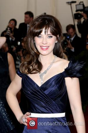 Zooey Deschanel - the 'Charles James: Beyond Fashion' Costume Institute Gala at the Metropolitan Museum of Art on May 5,...