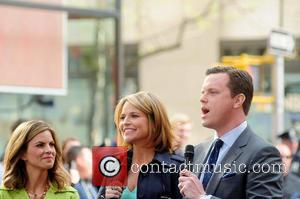 Natalie Morales, Savannah Guthrie and Willie Geist