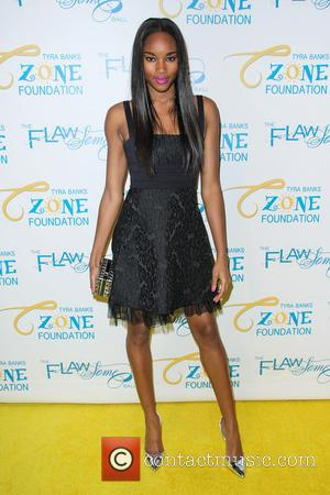 Damaris Lewis - 2014 Flawsome Ball held at Cipriani Wall Street - Arrivals - New York City, New York, United...