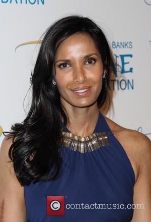 Padma Lakshmi - 2014 Flawsome Ball held at Cipriani Wall Street - Arrivals - New York City, New York, United...