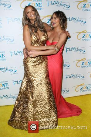 Tyra Banks and Chrissy Teigen - 2014 Flawsome Ball held at Cipriani Wall Street - Arrivals - New York City,...