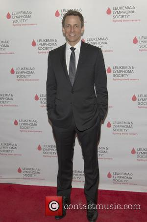 Seth Meyers - LOL With LLS: Jokes on You, Cancer! at New World Stages in New York City - New...