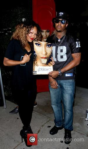 Meagan Good - Lyrica Anderson 'King Me 2' EP release listening party held at Xen Lounge in Studio City -...
