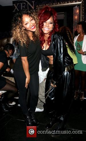 Meagan Good and Lyrica Anderson - Lyrica Anderson 'King Me 2' EP release listening party held at Xen Lounge in...