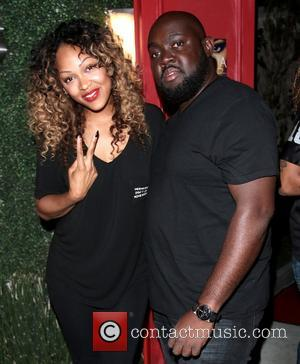 Meagan Good and Mark Bogle - Lyrica Anderson 'King Me 2' EP release listening party held at Xen Lounge in...
