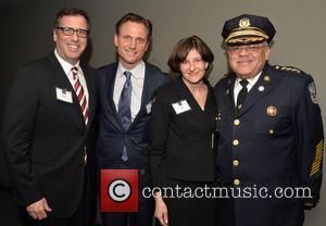 Richard Lagravenese, Tony Goldwyn, Marissa Boyers and Commissioner Charles H. Ramsey