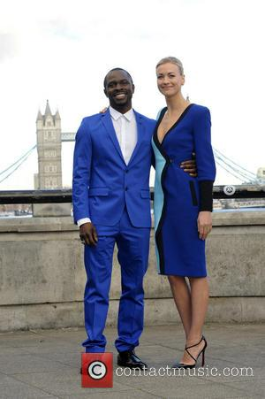 Gbenga Akinnagbe and Yvonne Strahovski - '24 - Live Another Day' UK TV premiere held at Old Billingsgate - London,...