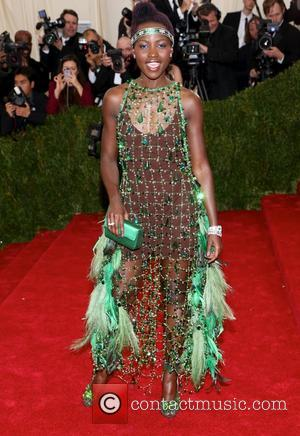 Lupita Nyong'o - 'Charles James: Beyond Fashion' Costume Institute Gala at the Metropolitan Museum of Art - Outside Arrivals -...