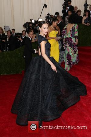 Maggie Q - 'Charles James: Beyond Fashion' Costume Institute Gala at the Metropolitan Museum of Art - Outside Arrivals -...