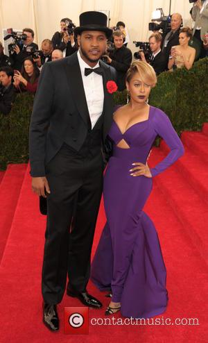 Carmelo Anthony and La La Anthony - 'Charles James: Beyond Fashion' Costume Institute Gala at the Metropolitan Museum of Art...