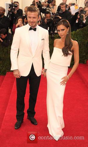 David Beckham and Victoria Beckham - 'Charles James: Beyond Fashion' Costume Institute Gala at the Metropolitan Museum of Art -...