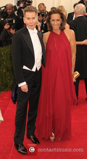 Calvin Klein and Donna Karan - 'Charles James: Beyond Fashion' Costume Institute Gala at the Metropolitan Museum of Art -...