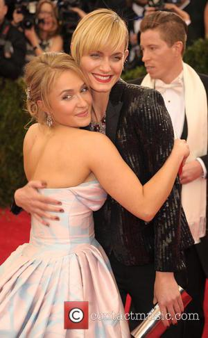 Hayden Panettiere and Amber Valetta - 'Charles James: Beyond Fashion' Costume Institute Gala at the Metropolitan Museum of Art -...