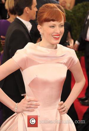 Karen Elson - 'Charles James: Beyond Fashion' Costume Institute Gala at the Metropolitan Museum of Art - Arrivals - Mantattan,...