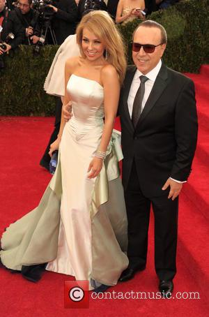 Thalia and Tommy Mottola - 'Charles James: Beyond Fashion' Costume Institute Gala at the Metropolitan Museum of Art - Arrivals...