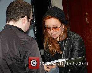 Tori Amos - Tori Amos meets fans outside the stage door of The Olympia Theatre ahead of her gig later...