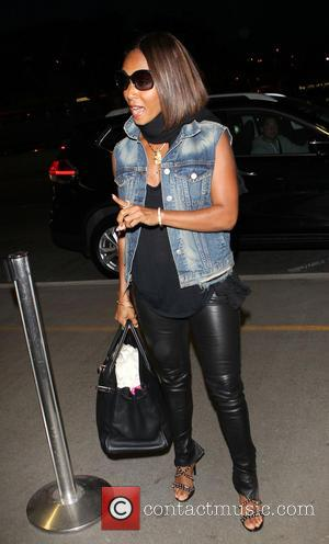 Jada Pinkett Smith - Jada Pinkett Smith arriving at Los Angeles International Airport (LAX) - Los Angeles, California, United States...