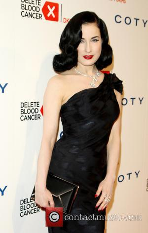 Dita von Teese - 2014 Delete Blood Cancer Gala at Cipriani Wall Street - Inside Arrivals - New York City,...