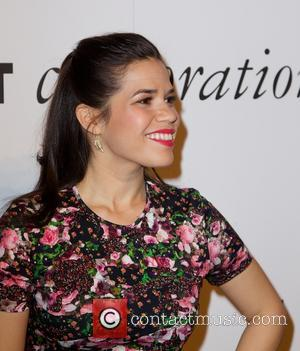 America Ferrera Reunites With Ugly Betty Co-star At Charity Bash